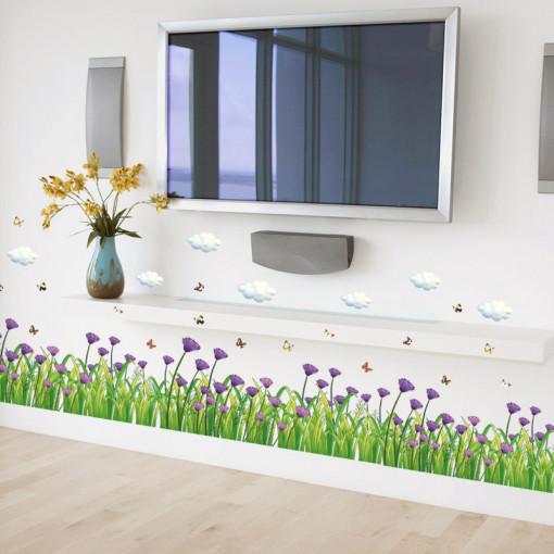 Sticker Garofite perete / geam