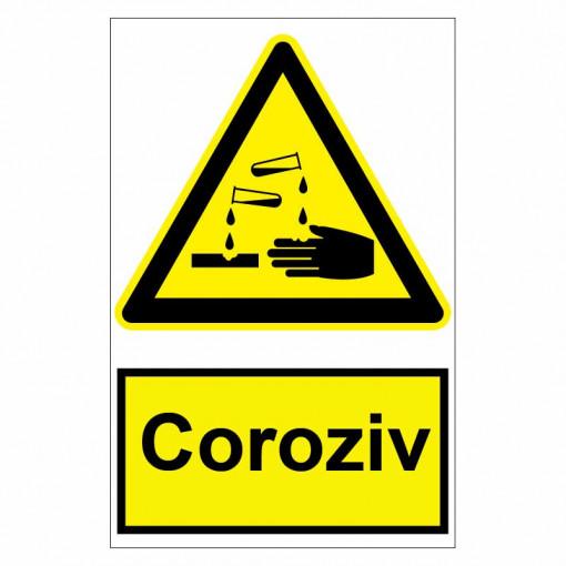 Sticker indicator Coroziv