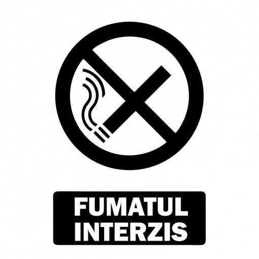 Sticker Indicator Fumatul Interzis