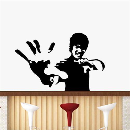 Sticker perete Bruce Lee 57 x 37 cm