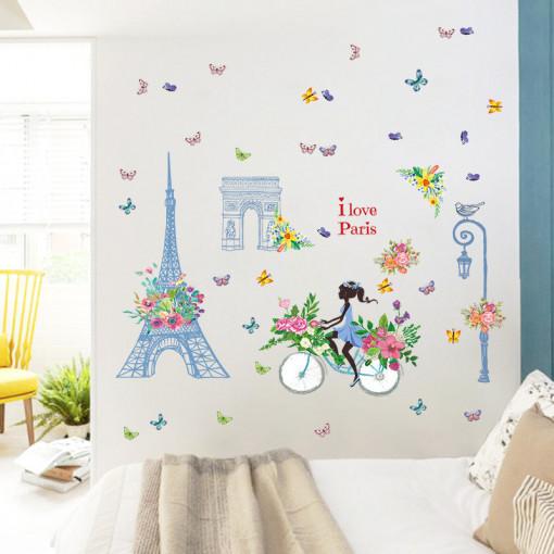 Sticker perete I Love Paris