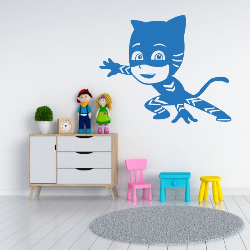 Sticker perete PJ Catboy