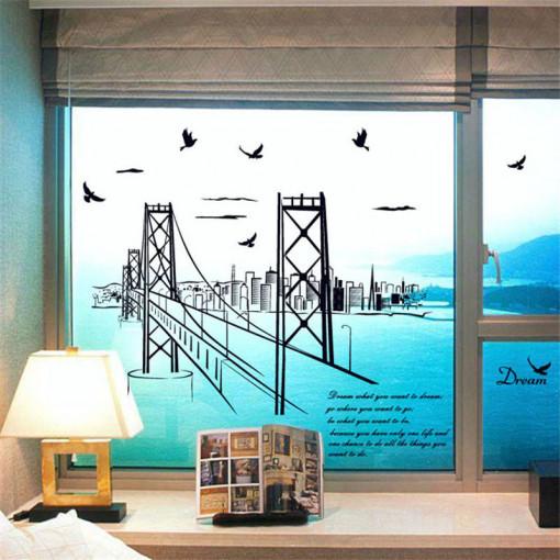 Sticker perete San Francisco Bridge