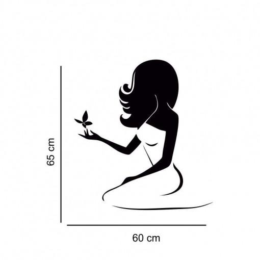 Sticker perete silueta Femeie 8