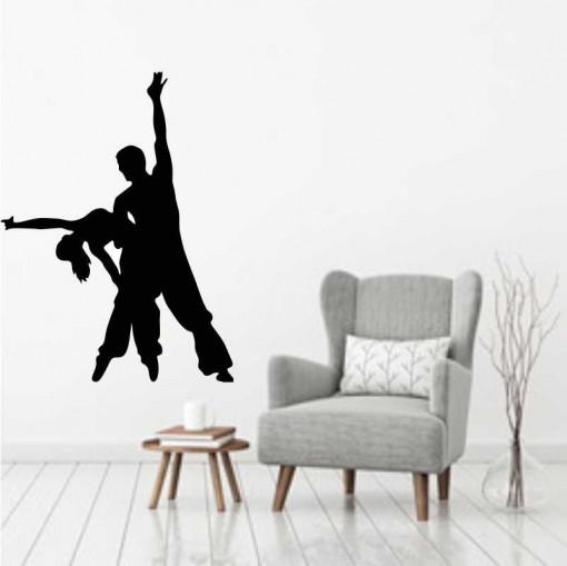 Sticker perete Siluete dansatori latino