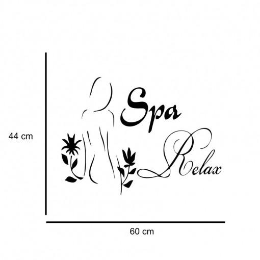 Sticker perete Spa Relax