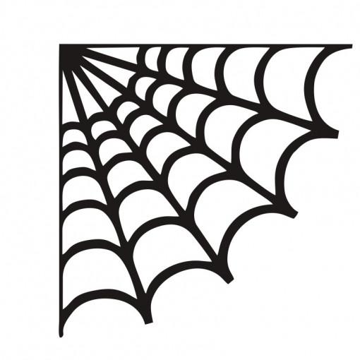 Sticker perete Spider Net