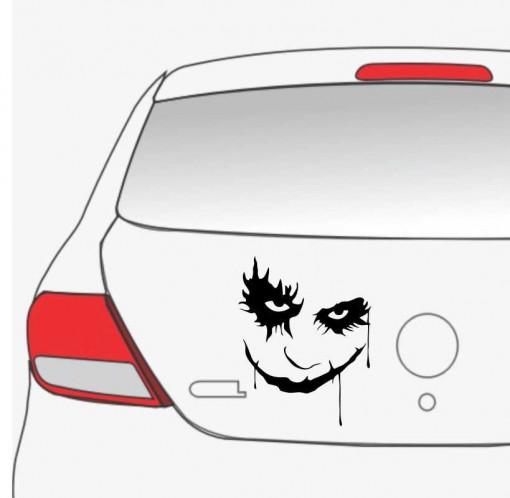 Sticker auto Joker Face