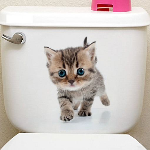 Sticker decorativ Here I Am Little Kitten