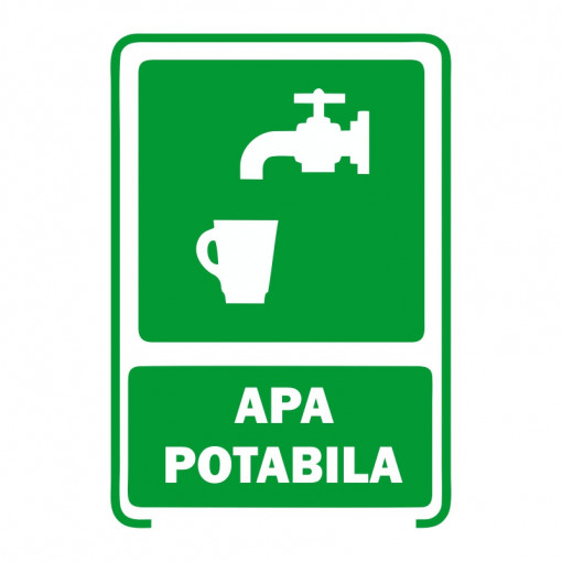 Sticker Indicator Apa Potabila