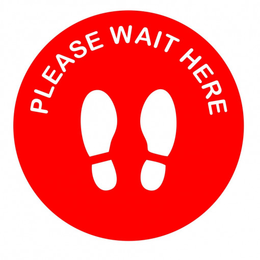 Sticker Indicator Please wait here