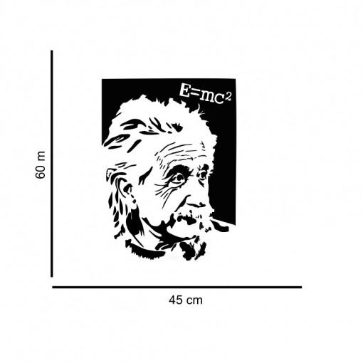 Sticker perete Einstein - E=MC2