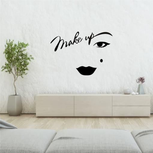 Sticker perete Make Up Artist 5