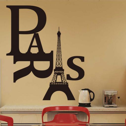 Sticker perete Paris 42 x 60 cm