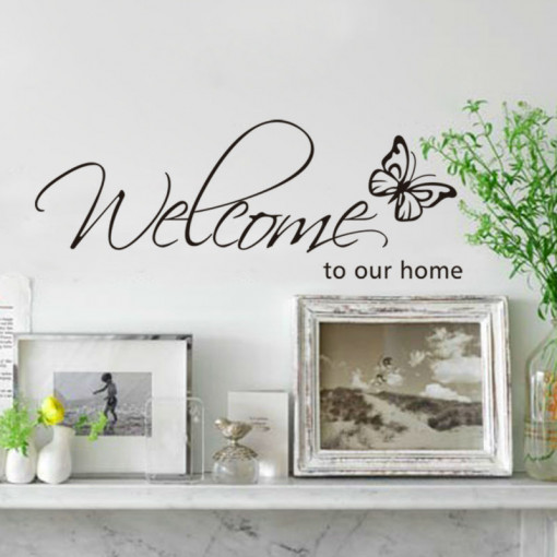 Sticker perete Welcome to Our Home