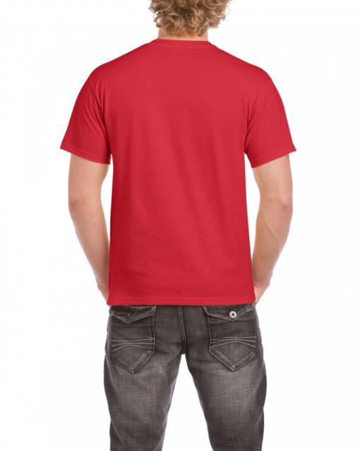Tricou personalizat barbati rosu Bike S