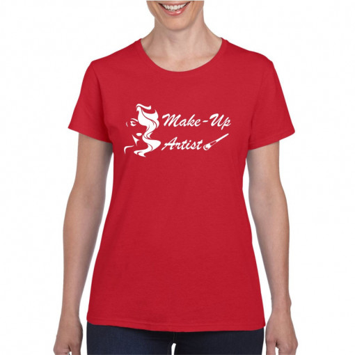 Tricou personalizat dama Make Up Artist 3