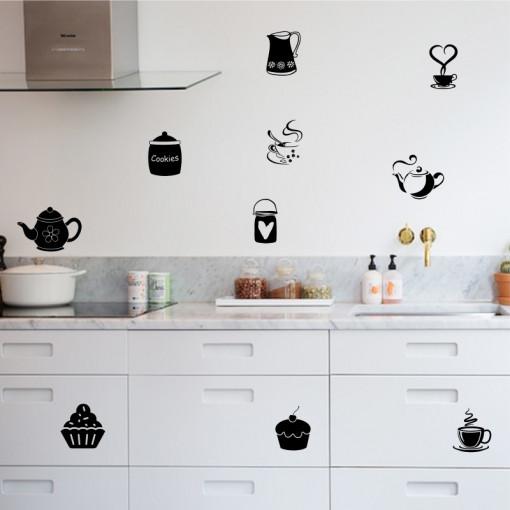 Set stickere bucatarie Kitchen Decor 1