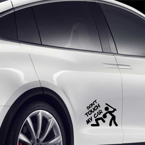 Sticker auto Don t Touch My car 1