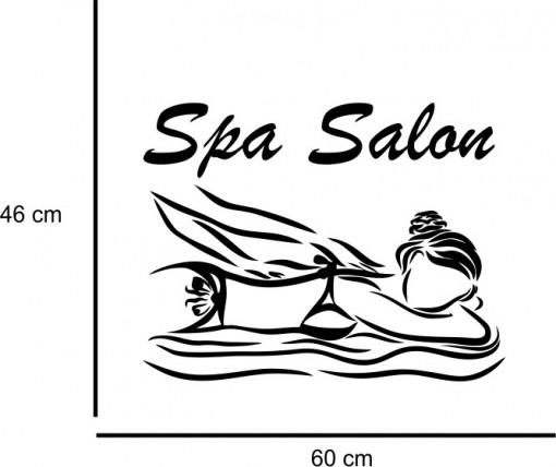Sticker decorativ Salon Masaj 8