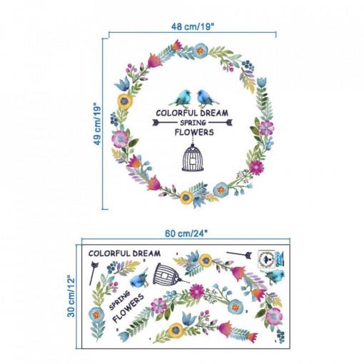 Sticker perete Colorful Dream