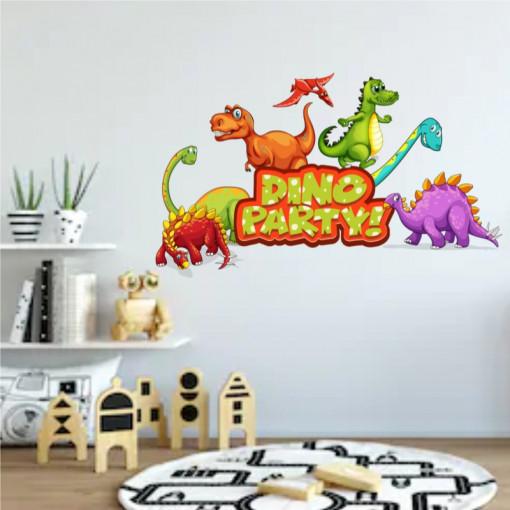 Sticker perete Dino Party