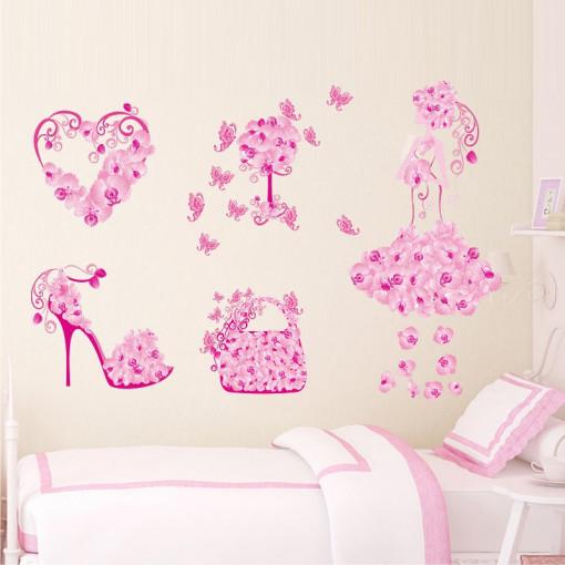 Sticker perete Fashion Butterflies