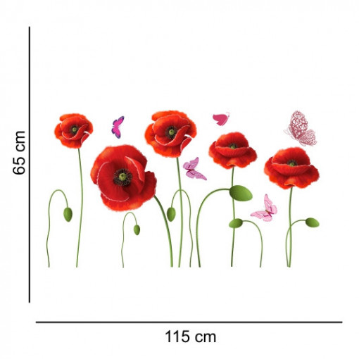 Sticker perete Flower Decor Maci