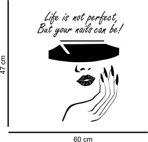 Sticker perete Nail Salon 1
