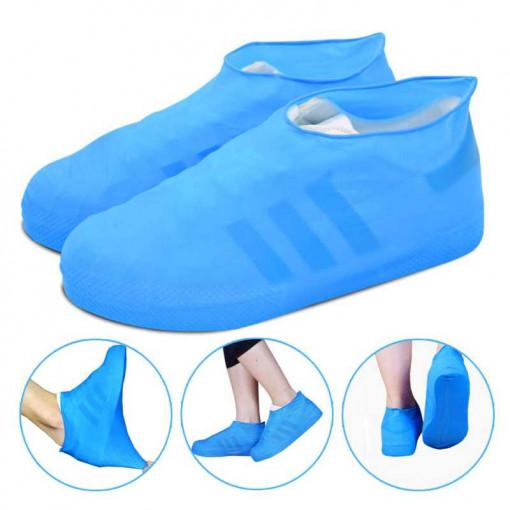 Protectie incaltaminte ploaie Albastru S