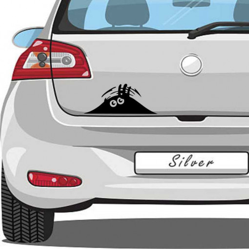 Sticker auto Watching You 3