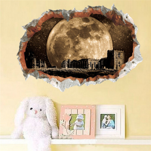 Sticker perete 3D See the Moon