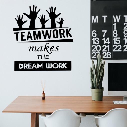 Sticker perete TeamWork
