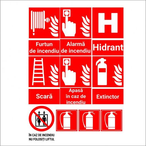 Set stickere indicatoare PSI