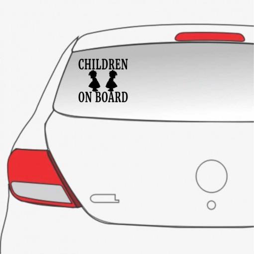 Sticker auto Children On Board