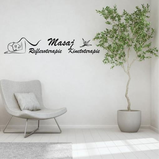 Sticker decorativ Salon Masaj 5