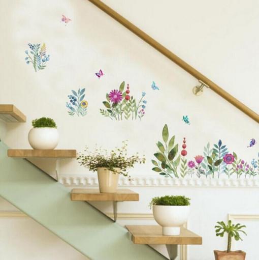 Sticker Flori de Camp perete / geam
