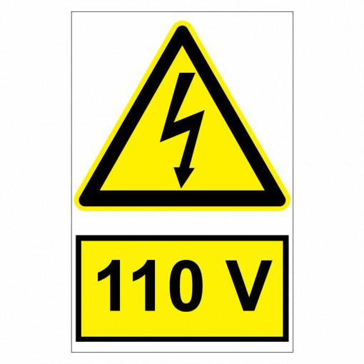 Sticker indicator 110V