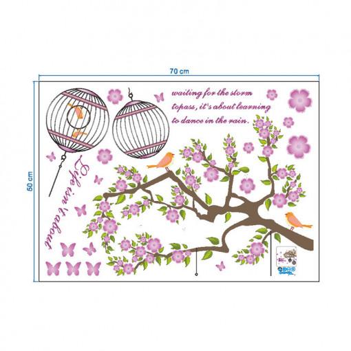 Sticker perete Birds in the Tree