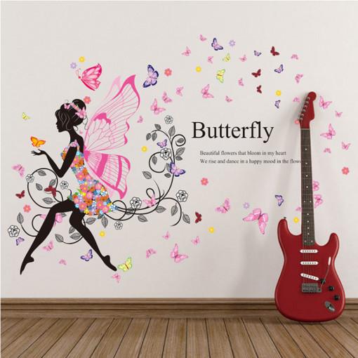 Sticker perete Butterfly Fairy
