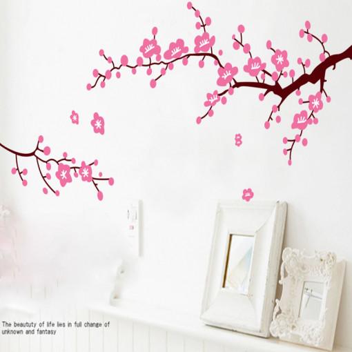 Sticker perete Cherry blooming flowers