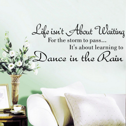 Sticker perete Dance in The Rain