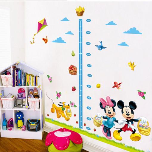 Sticker perete Grow up Mickey & Minnie 120 x 108 cm