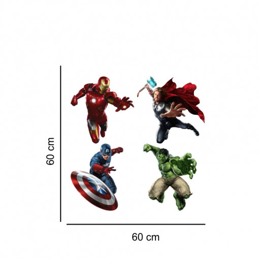 Sticker perete Personaje Avengers 2