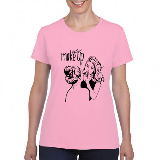 Tricou personalizat dama Make Up Artist 1