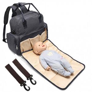 Geanta rucsac bebe 3 in 1 - negru