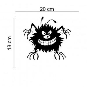 Sticker auto Angry Bug