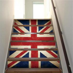 Sticker decorativ scari / perete England