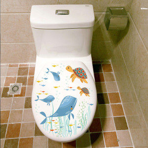 Sticker decorative Blue Lagoon