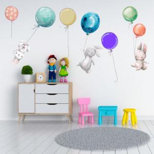 Sticker perete Baloons